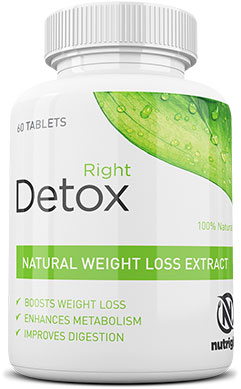 Right Detox 100 Natural Weight Loss Extract